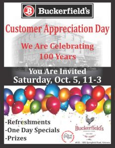 Customer Appreciation Day at Buckerfield's