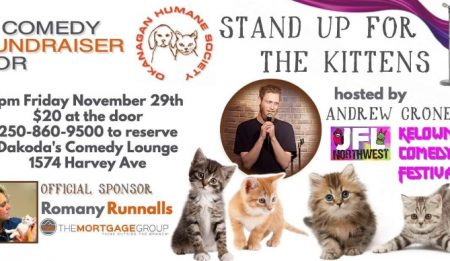 DAKODA'S COMEDY NIGHT NOVEMBER 29th