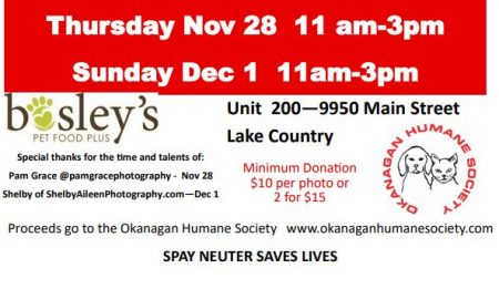 SANTA PAWS IS COMING TO LAKE COUNTRY